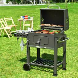 Large Charcoal Grill Heavy-Duty Foldable Outdoor Patio Barbe