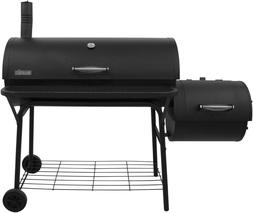 Large Charcoal Grill Outdoor Portable Barbecue Offset Smoker