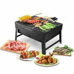 Maogolan Barbecue Charcoal Grill Folding Portable Grills Lig