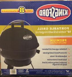 "NEW Kingsford 14"" Black Portable Grill - Black"