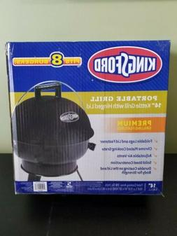 NEW in Box Kingsford Portable Grill 14 inch Black Kettle Tab