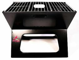 NEW - MLB St. Louis Cardinal Portable Charcoal BBQ Tailgate