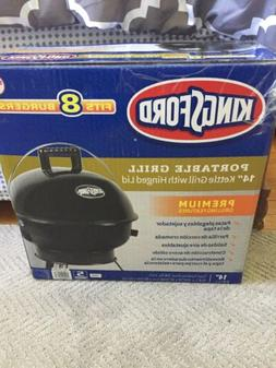"""New Kingsford Portable Grill 14"""" Black Kettle Grill with Hin"""