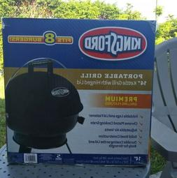 "New Kingsford Portable BBQ Charcoal Grill 14""  Kettle Hinged"