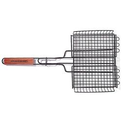 Charcoal Companion Non-Stick Rectangle Grilling Basket with