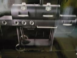 Oklahoma Joe's Longhorn Black gas/charcoal smoker Grill Outd