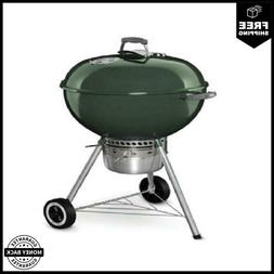 Weber Original Premium Charcoal 22 in. W Green Kettle Grill
