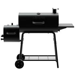 Outdoor 29 in. Barrel Charcoal Grill/Smoker Wood Tennessee h