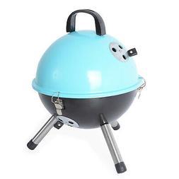 Outdoor Backyard Cooking Mini Portable Charcoal BBQ Grill Bo