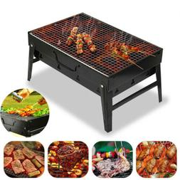 Outdoor Bbq Barbecue Grills Burner Oven Garden Charcoal Pati