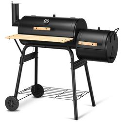 Goplus Outdoor BBQ Grill Charcoal Barbecue Pit Patio Backyar