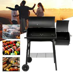 Outdoor BBQ Grill Charcoal Barbecue Pit Patio Home Backyard