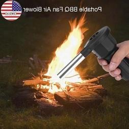 Outdoor Cooking BBQ Fan Air Blower for Camping Barbecue Picn