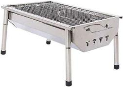 Patio Lawn Garden Charcoal Grill Barbecue Portable Stainless