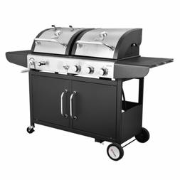 Performance 3-Burner Liquid Propane Gas and Charcoal Grill