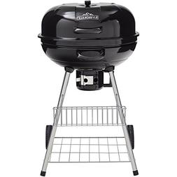 RiverGrille Pioneer 22.5 in. Charcoal Grill in Black