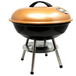 Unique Imports #1 Portable Charcoal Barbecue BBQ Kettle Gril