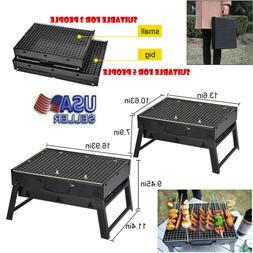 Portable Charcoal BBQ Grill Stove Folding Barbecue Shish Kab