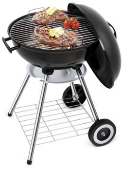 Portable Charcoal BBQSteel Grill for Tailgating Camping Outd