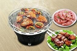 UNICOOK Portable Smokeless Charcoal Grill, Stainless Steel B