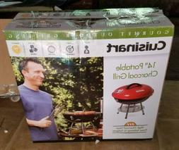 Cuisinart Portable Charcoal Grill BBQ, 14Inch Portable Kettl