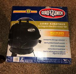 """Kingsford Portable Grill - 14"""" Black Kettle Grill with Hinge"""