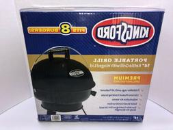 "Kingsford Portable Grill - 14"" Black Kettle Grill with Hinge"