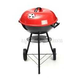Portable Grill BBQ Smoker Charcoal Outdoor Camping Patio Woo