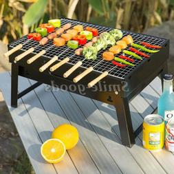 Portable Grill Compact Charcoal Barbecue BBQ Outdoor Camping