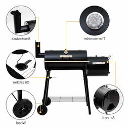 Portable Outdoor BBQ Grill Charcoal Barbecue Pit Meat Cooker