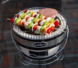 Portable Small Yakitori Charcoal Grill Camping BBQ Meat Keba