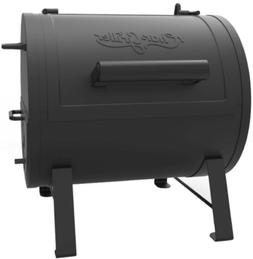 Portable Tabletop Charcoal Grill Barrel Fire Box Cooker Smok