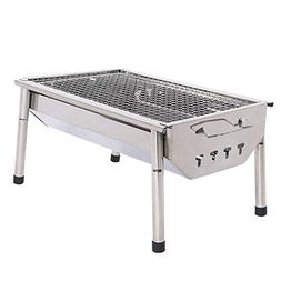 Chinashow Portable Thickened Outdoor Stainless Steel Folding