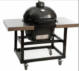Primo LG300 Ceramic Charcoal Smoker Grill On Cart #370 WE WI