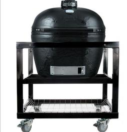 Primo LG300 Ceramic Charcoal Smoker Grill On Cart #368 WE WI