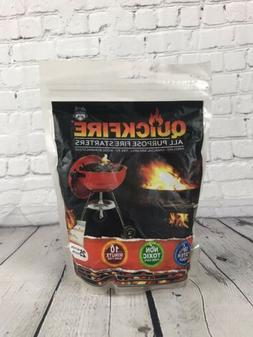Quickfire All Purpose Fire Starter Camping Charcoal BBQ Gril