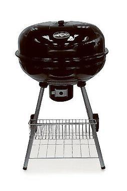 RANKAM  MFG CO LTD Charcoal Kettle Barbecue Grill, Black, 22