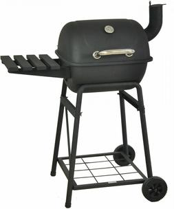RevoAce 26' Mini Barrel Charcoal Grill BBQ Outdoor Barbecue