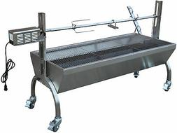 Rotisserie Grill Roaster Stainless Steel 13W 88LBS capacity