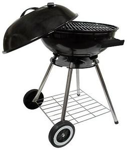 Imperial Home Round Kettle Charcoal Barbecue Grill 18 Inch B