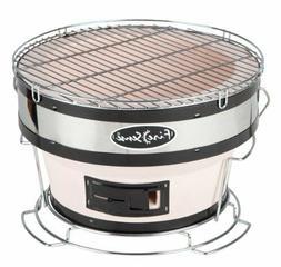 Fire Sense Small Compact Yakatori Charcoal Grill Backyard BB