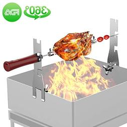 UMTELE Smart Rotating Roasting Sticks & Barbecue Skewer & BB