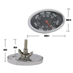 "Hisencn 3"" BBQ Barbecue Grill Pit Smoker Temperature Gauge G"