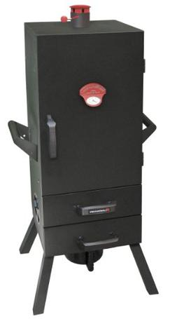 Landmann - Vertical Charcoal Smoker - Black