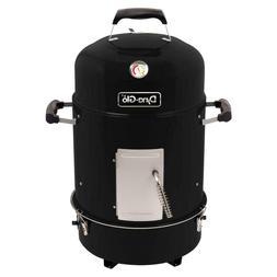 Smoker Grill Charcoal Compact 19 In. Grates Adjustable BBQ O