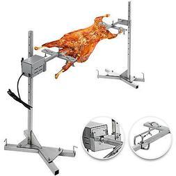 Spit Roaster Rotisserie Pig Lamb Roast BBQ Portable Picnic O