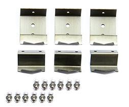Hongso Stainless steel heat plate brackets & burner hanger b