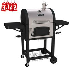 Compact Portable Heavy Duty Charcoal BBQ Grill Stainless Ste