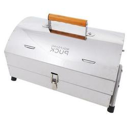 Wolfgang Puck Stainless Steel Portable Charcoal Grill Model