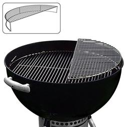 Stainless Steel Warming Smoking Rack Grate For Use With 22.5